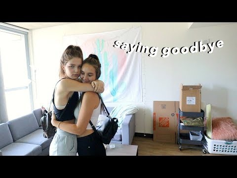 moving my best friend back into college