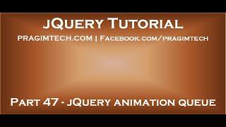 jQuery Animation Queue