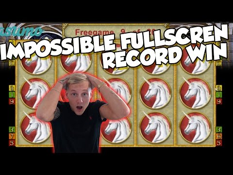 RECORD WIN Online Slot - MAGIC MIRROR Big Win and bonus round (Casino Slots) Huge win