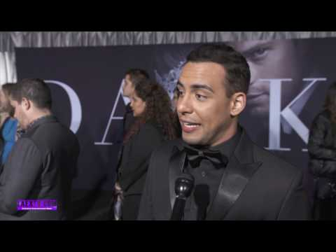 "Victor Rasuk ""Fifty Shades Darker"" Red Carpet Premiere 2017"