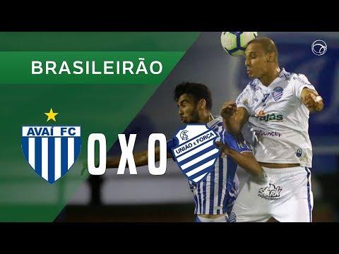 AVAÍ 0 X 0 CSA - MELHORES MOMENTOS - 12/05 - BRASILEIRÃO 2019