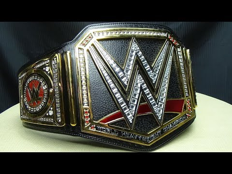 WWE India : Unboxing and  Review of WWE World Heavyweight Championship Replica,and other stuffs
