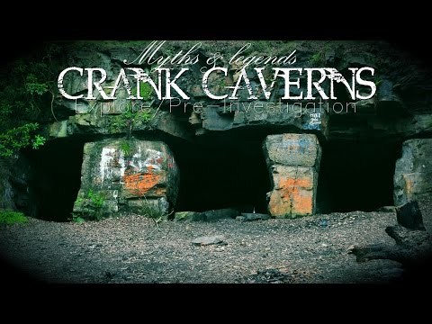 HAUNTED ABANDONED MINE! CRANK CAVERNS URBAN EXPLORING