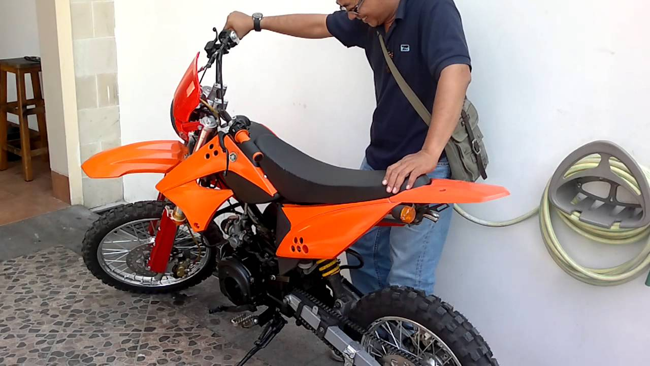 Trail Modif Bebek Yamaha Force One