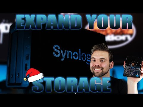 EXPAND THE DISK VOLUME OF A 2 BAY SYNOLOGY NAS (WITHOUT LOSING DATA)