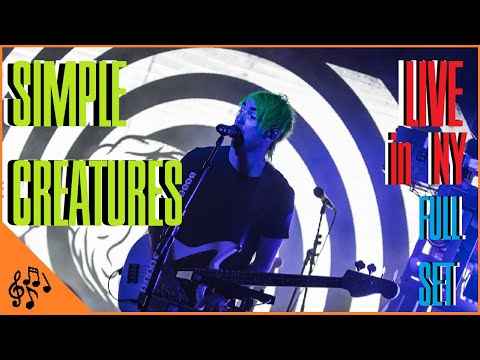 Simple Creatures Live In NYC 2019 *FULL SET*