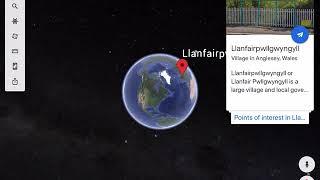 gogole maps Llanfair speedrun