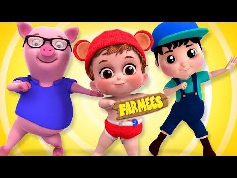 Nursery Rhymes & Songs For Kids   Preschool Cartoon Videos - Farmees