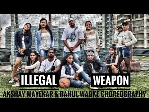 JASMINE SANDLAS ft. GARRY SANDHU | ILLEGAL WEAPON | INTENSE | Akshay  And Rahul Choreography