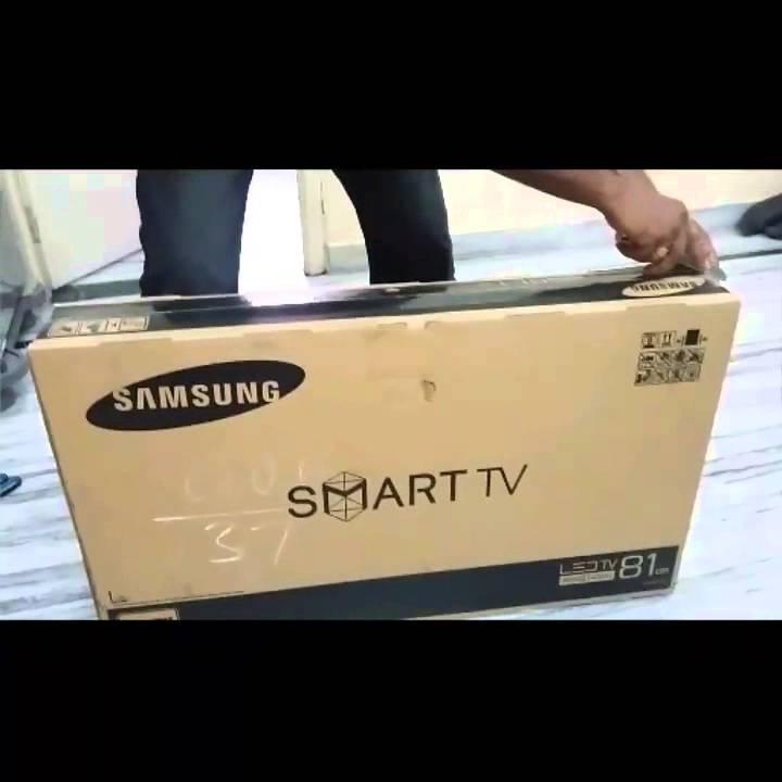 befad351806 Samsung joy smart j4300 32 inch unboxing - YouTube