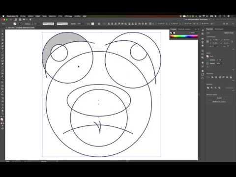 Outil De Conception De Forme Dans Illustrator Youtube