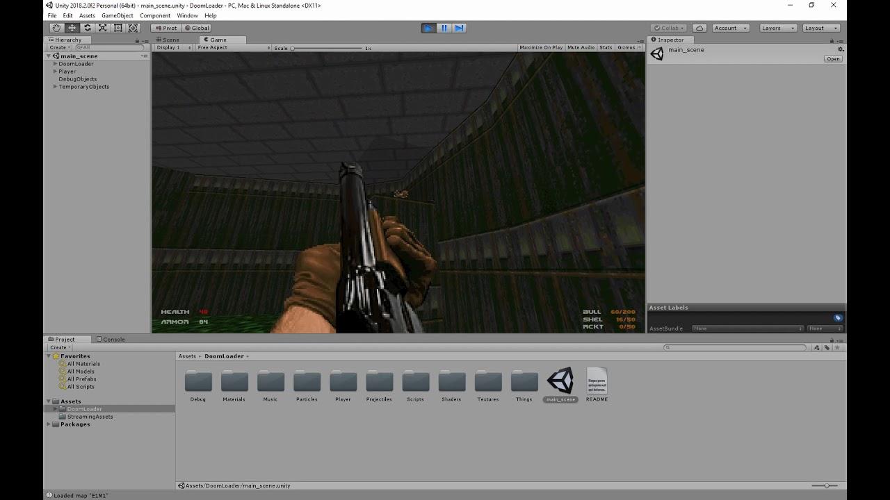 DoomLoader for Unity - Doom Editing - Doomworld