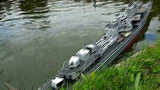 RC SHIP ZERSTÖRER destroyer Kriegsmarine ex