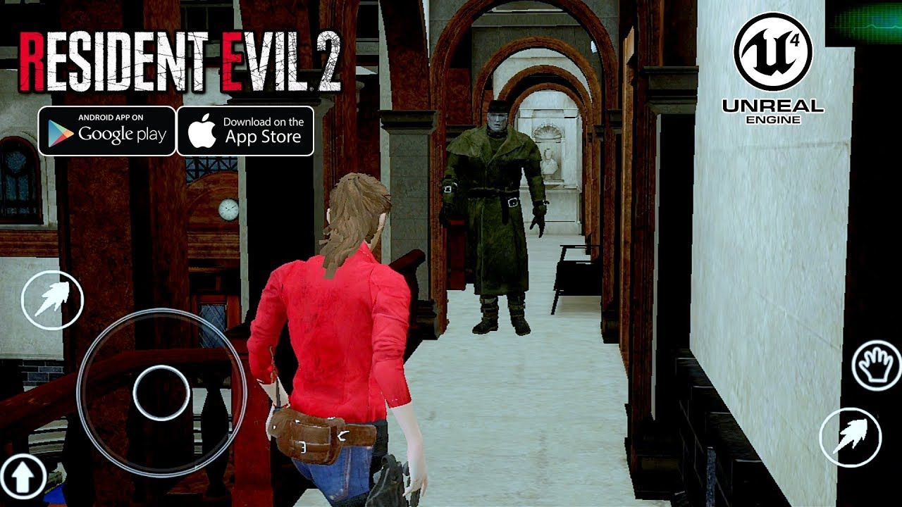 [Android/IOS] Resident Evil 2 Remake - Unreal Engine 4 Demo Gameplay