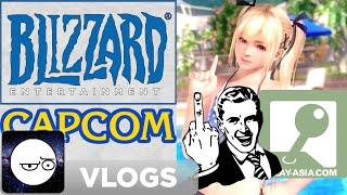 The Majority Middle Finger (Blizzard, Capcom, & DOAX3)
