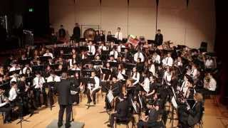 NCBA 2015 Junior High school Honor Band performs Shenandoah by Frank Ticheli