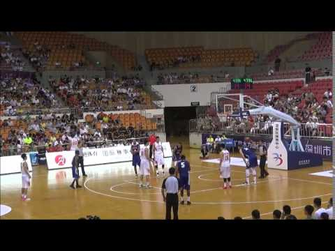 NetScouts Basketball USA All-Stars vs. China 6/28/15 Full Game