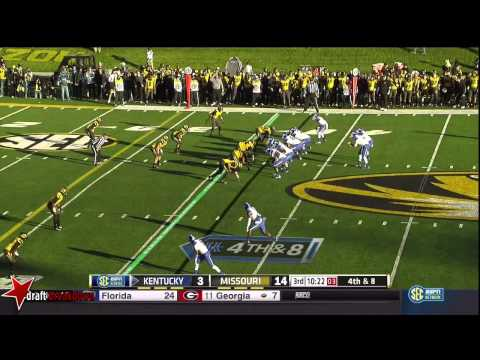 Shane Ray (DE Missouri) vs Kentucky 2014