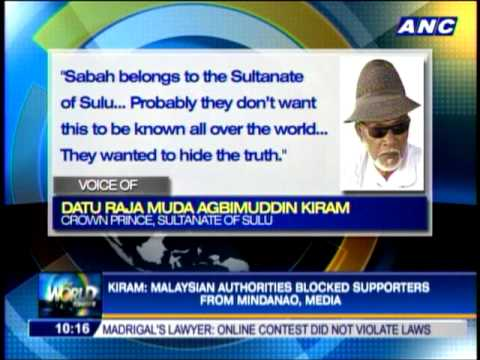 Malaysian troops isolate Sulu sultan's followers