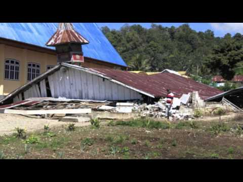 Earthquake damage to my beloved dissertation site, Lindu, Central Sulawesi, Indonesia