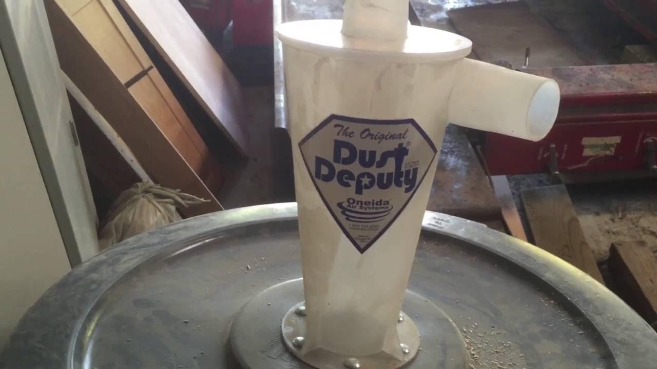 Oneida Dust Deputy collector tips and fix