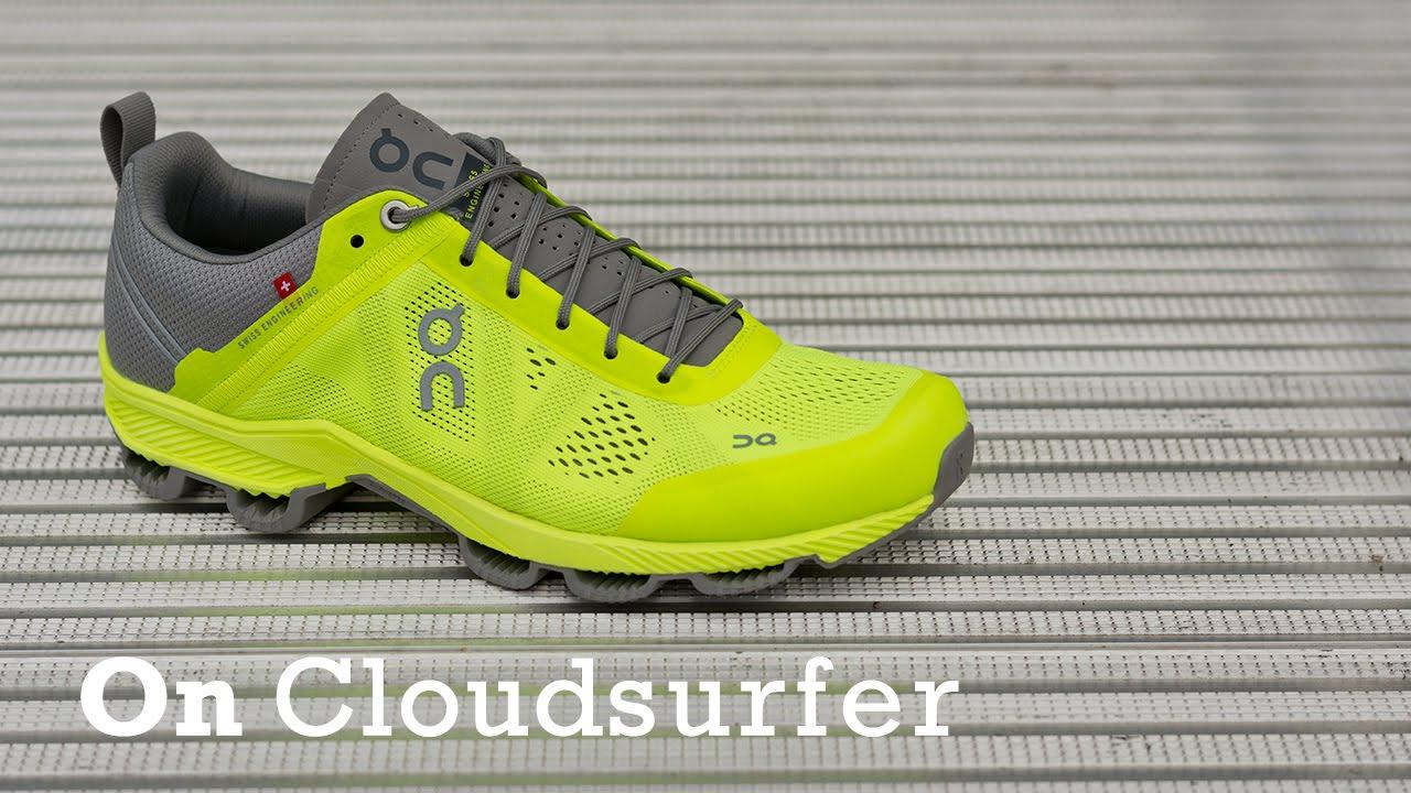 Canada On Cloudsurfer Classic Women\u0027s Running Shoes Glow