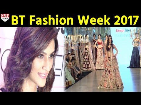 Kriti Sanon Walks The Ramp At Bombay Times Fashion Week 2017