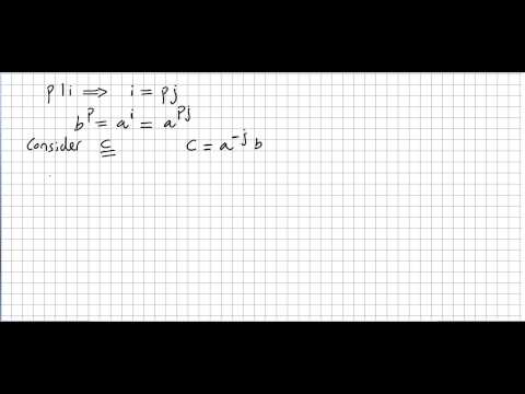 Fundamental Theorem of Finite Abelian Groups, Proof 2