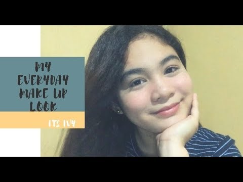 EVERYDAY MAKE UP LOOK!! | IVY MAGRACIA