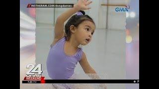 24 Oras Marian Rivera at Dingdong Dantes proud parents kay Zia na sumabak sa ballet classes