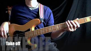 Bass jam - slap bass - 16th note - bass chords