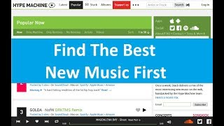 Find The Best New Music First | HypeMachine