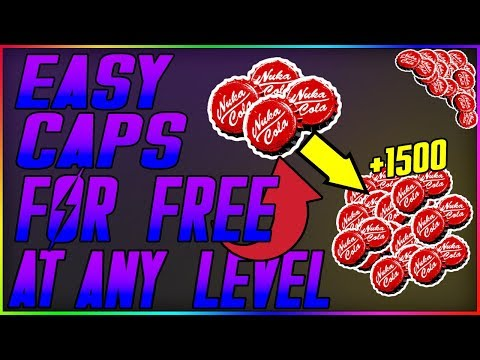 Fallout 76 -*INSANE*EASY/FREE CAPS FARM |WORKING CAPS METHOD| EASILY GET FREE CAPS FAST(After Patch) thumbnail