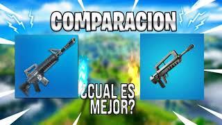 Rifle de asalto vs Rifle de Ráfagas COMPARACION  [Fortnite] /Rifle asault vs Rifle gusts Comparation