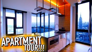 EMPTY APARTMENT TOUR!! NYC Apartment tour 2017!