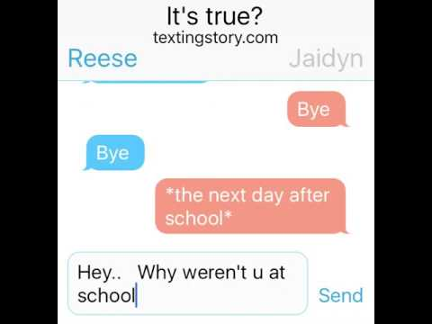 This is a True Story!!  The Saddest Text messages ever!