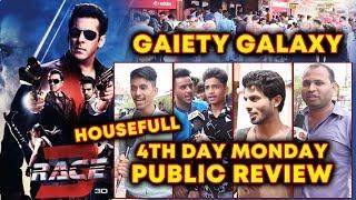RACE 3 | 4th DAY PUBLIC REVIEW | HOUSEFULL | Salman Khan का धमाका