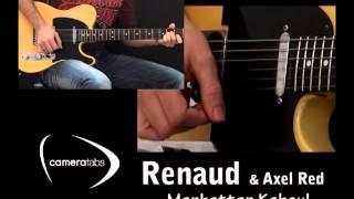 """Cover Guitare électrique """"manhattan Kaboul"""" De Renaud & Axel Red"""
