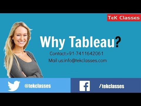 Tableau 9.0 Training | Tableau Online Training | Tableau Training in Bangalore