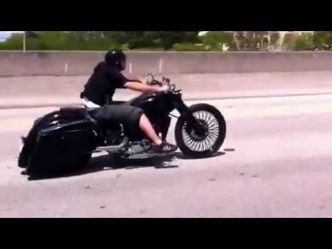 Miami Honda Shadow Spirit Custom Metric