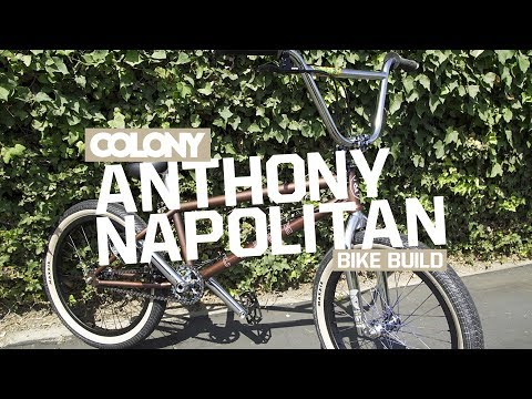 Anthony Napolitan sets up a new Tradition frame with a stack of Colony parts then gets in a session at the Hood Rich trails. Filmed and edited by Chris Bracamonte. Check out Napo's signature...