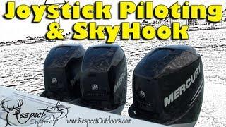 Mercury joy stick control with sky hook