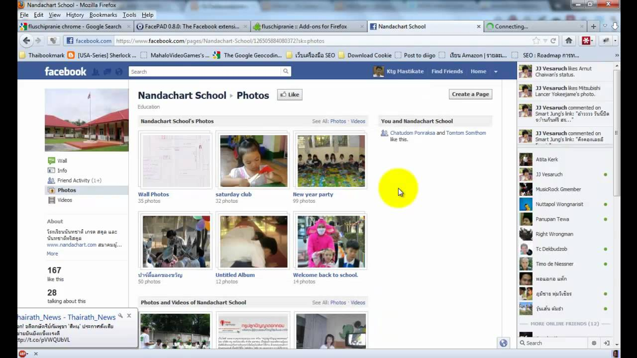 How to download all photos in facebook page