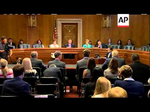Former Indianapolis Colts player Ben Utecht gave an impassioned plea to U.S. Senators Wednesday aski
