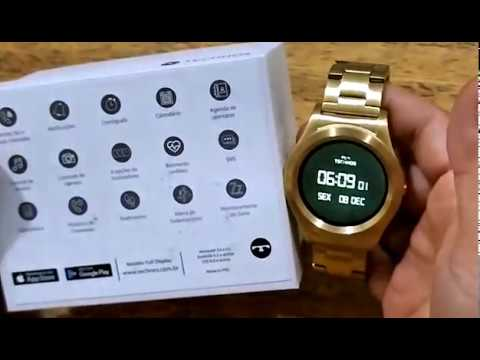 64bb116caf3 technos connect smartwatch - YouTube