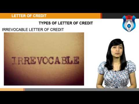 Letter of Credit NEW