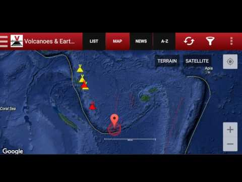 MAJOR QUAKE! M 7.2  Southeast Loyalty Islands