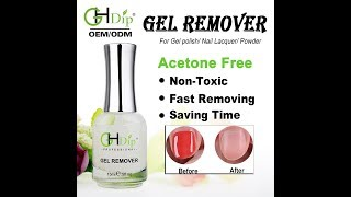 Acetone free Magic Gel Remover
