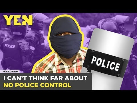 Ghana Nti: I can't think far about the seeming lack of control by the Ghana Police | #Yencomgh