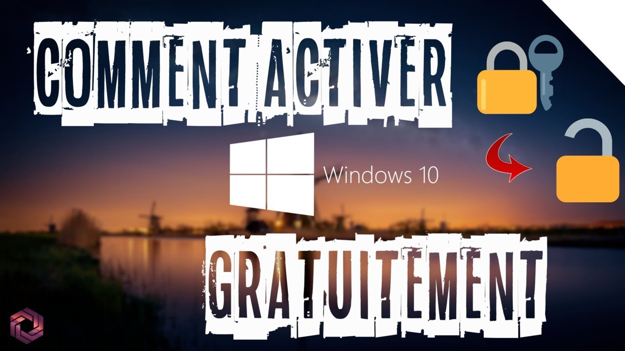 ✅ COMMENT ACTIVER WINDOWS 10 GRATUITEMENT/FREE | 2020